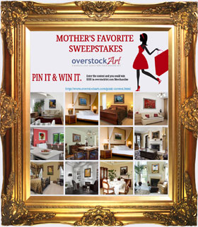 #overstockArt.com Mother's Favorite Pinterest Contest