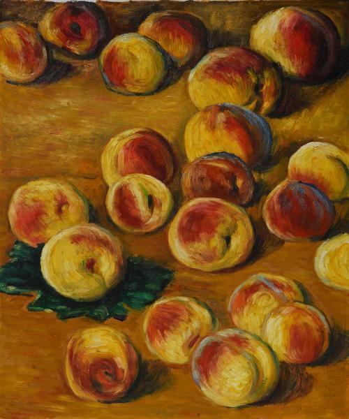 Monet - Peaches - Classic 20 X 24 - Hand Painted Canvas Art Peaches, Peach, Peach Tree, Peach Trees, Peach Plants, Fruit Trees, Live Peach, Fruit Garden, Fruit