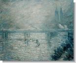 Monet Paintings: Charing Cross Bridge