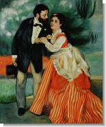 Renoir Paintings: The Engaged Couple