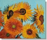 Sunflowers Detail (horizontal)