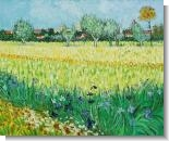 Van Gogh Paintings: View of Arles with Irises
