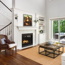 Let us transform your space with Da Vinci's Mona Lisa! Part of the #overstockArt.com Art for the Holidays Pinterest Sweeps