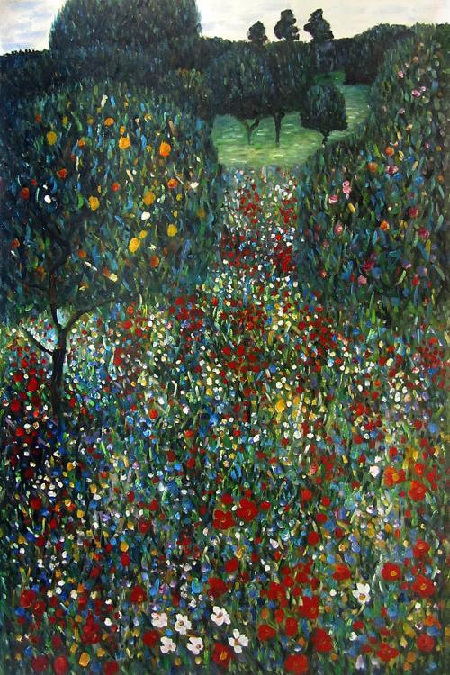 Klimt Paintings Poppy Field